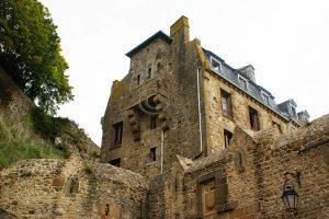 Le Mont-Saint-Michel; huis Le Mont-Saint-Michel