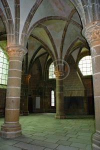 Le Mont-Saint-Michel gewelf; Le Mont-Saint-Michel zaal