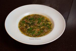 Groentesoep; soep; bord soep; bord groentesoep