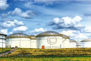 Rozenbur; Vopak; opslagtanks; industrieterrein
